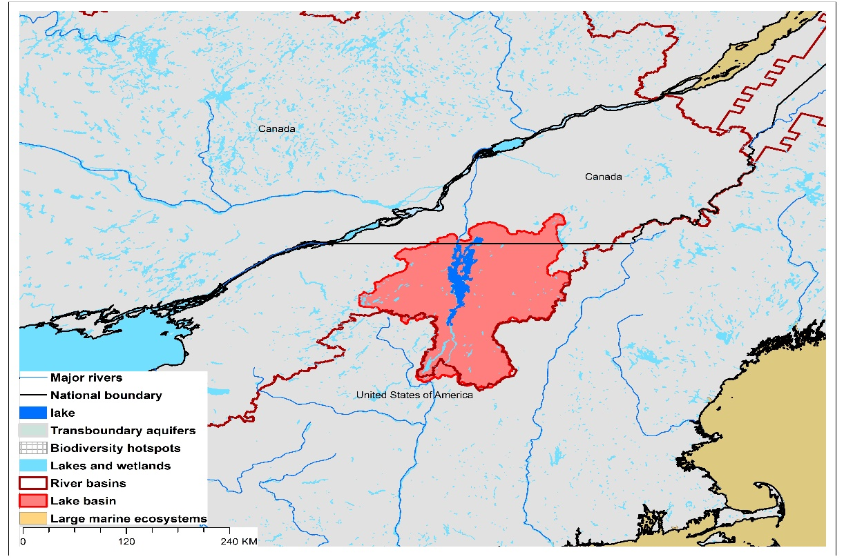 (a)Lake Champlain basin and associated  transboundary water systems